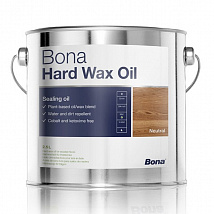 Масло-Воск Bona Hard Wax Oil (Matt, Semi-matt, Extramate) (2,5 L)
